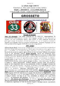 La sceda degli Ultras del Grosseto. Supplemento alla fanzine n. 191