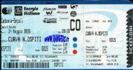 biglietto stadio Catania-Empoli 2004-05