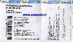 Biglietto stadio a Cittadella 2008-09