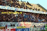 """striscione dei Rangers in Empoli-Catania: """"COME SEMPRE DAVANTI A TUTTI ANCHE NELL'ULTIMA DELLE TRASFERTE - CIAO EMILIANO"""""""