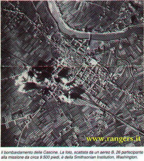 26/12/1943 Bombardamento della Stazione e delle Cascine ripreso in diretta da un bombardiere U.S.A.