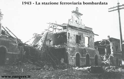 26 dicembre 1943: la stazione di Empoli dopo il bombardamento americano