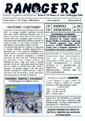 N. 106 Empoli - Atalanta 0-0 Serie A