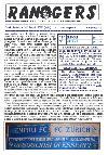 Leggi On Line la fanzine Rangers contro il Napoli