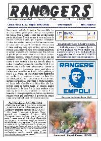 Leggi On Line la fanzine Rangers contro la Roma
