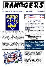 Leggi On Line la fanzine Rangers n. 191 contro il Grosseto