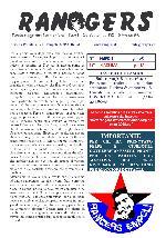 Leggi On Line la fanzine Rangers n. 192 contro il Piacenza