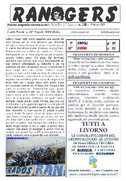 Leggi On Line la fanzine Rangers contro il Rimini