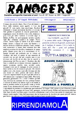 N. 201 Empoli - Brescia 1-1 Serie B