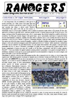 N. 211 Empoli - Modena 3-0 Serie B