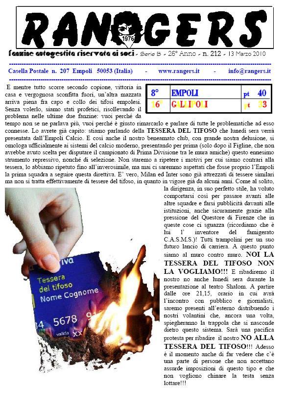 N. 212 Empoli - Gallipoli 2-2 Serie B