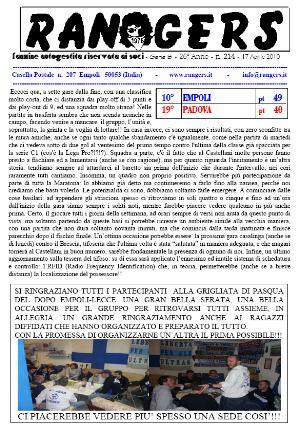 N. 214 Empoli - Padova 4-0 Serie B