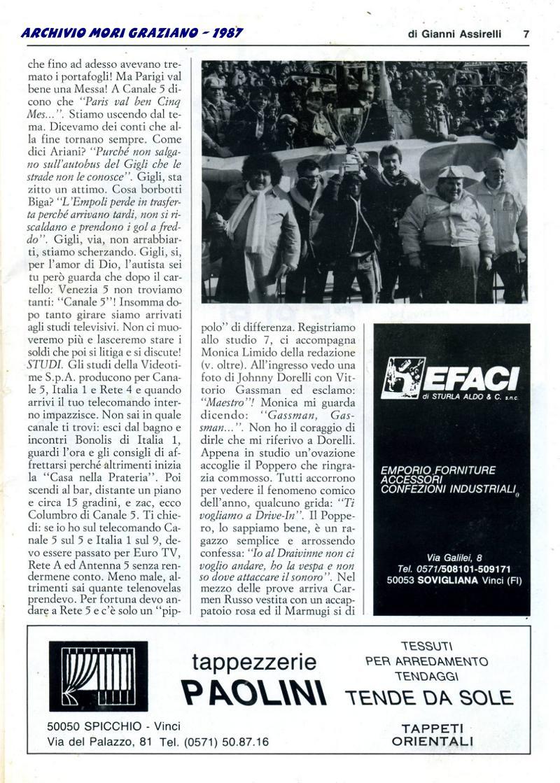 Articolo su Play Sport Spettacolo pagina 2