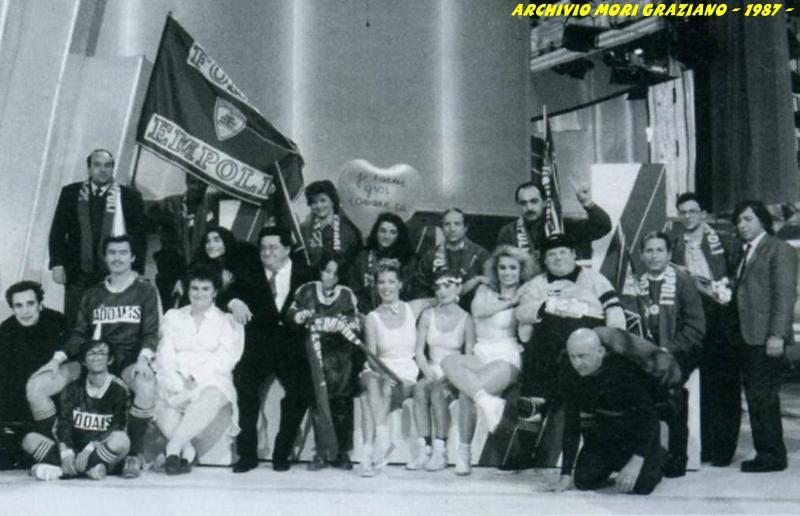 Il gruppo dei tifosi empolesi