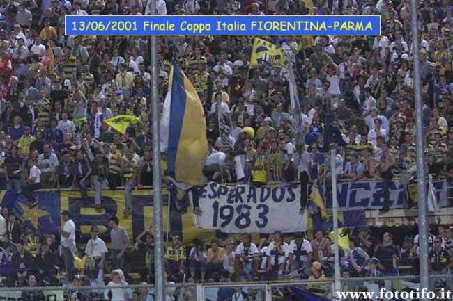 Finale Coppa Italia FIORENTINA-PARMA