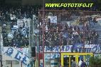 Inter-Empoli: Empolesi sventolano le loro bandiere