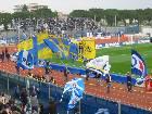 gemellaggio Empoli-Parma: sbandierata delle due tifoserie al Castellani 2