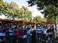 fuori dallo stadio di Siena
