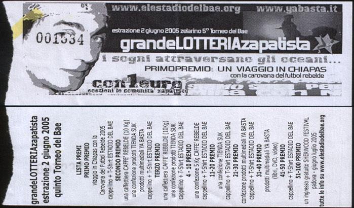 biglietto Lotteria ElestadiodelBae