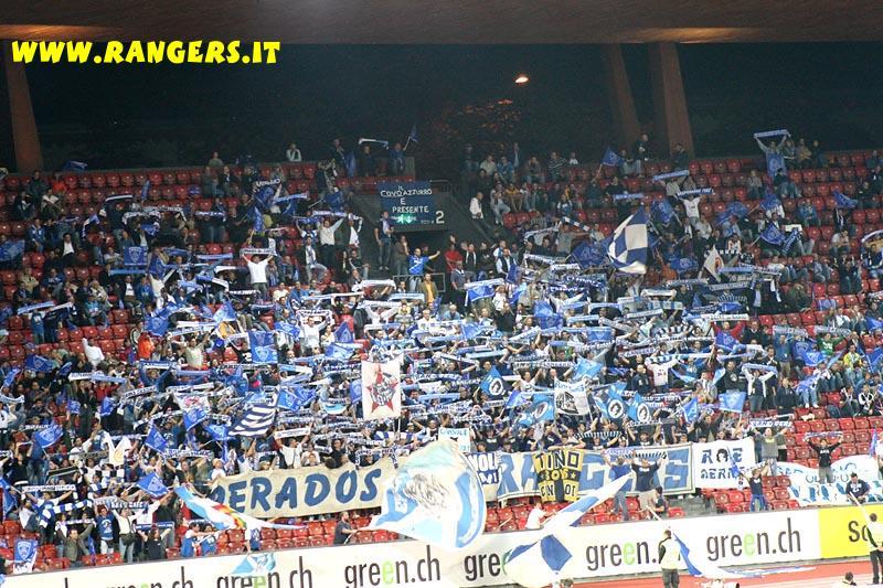 Partita di Coppa Uefa FC Zurich - Empoli a Zurigo