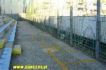 Il settore riservato agli invalidi in Cruva Nord a Treviso