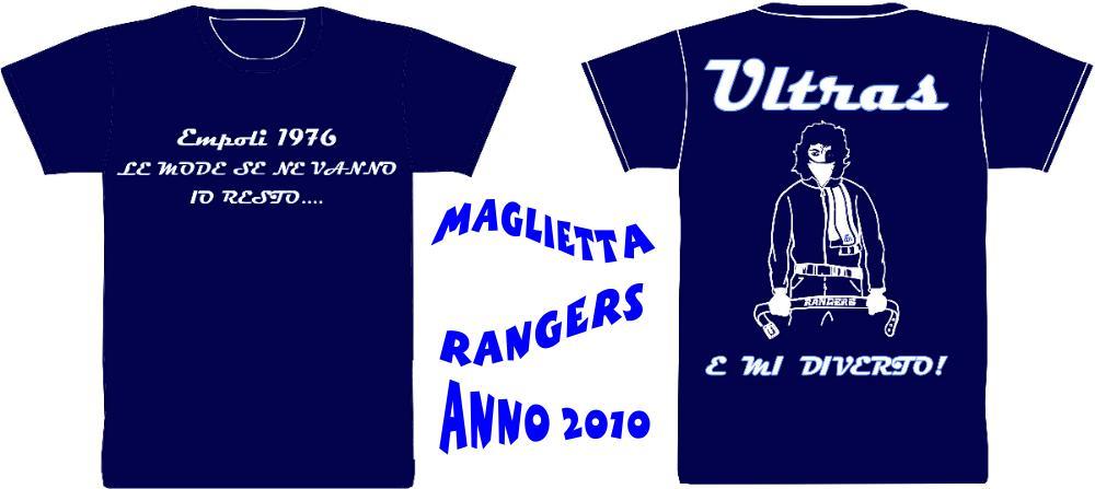 Le nuove magliette Rangers